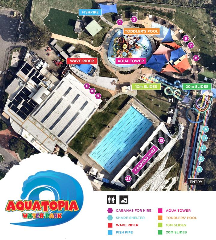 FCLC Map - Aquatopia Water Park
