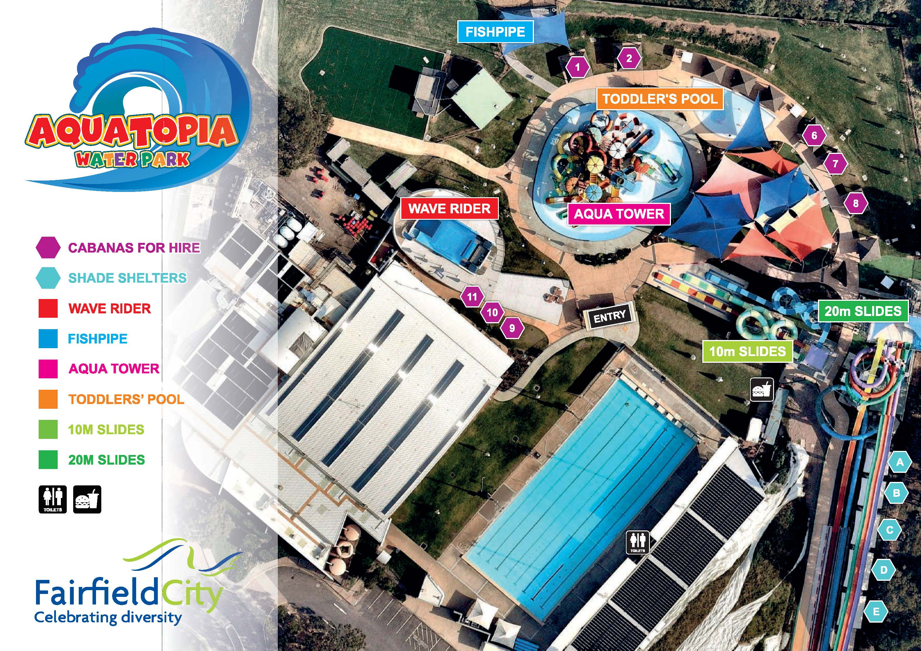 FCLC Map Page 2 - Aquatopia Water Park